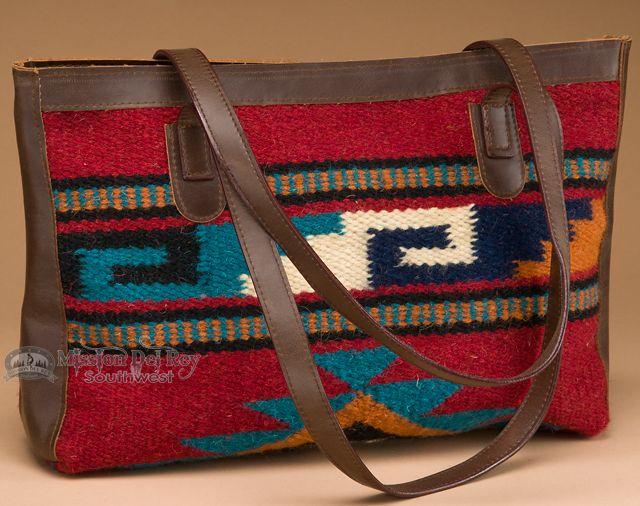 Wool Southwestern Tapestry Purse