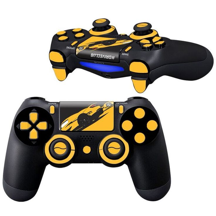 driveclub ps4 controller full buttons skin kit