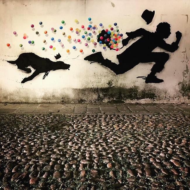 Sokakların Yeni Banksy'si Kenny Random'dan Etkileyici Sokak Sanatı Eserleri Sanatlı Bi Blog 29