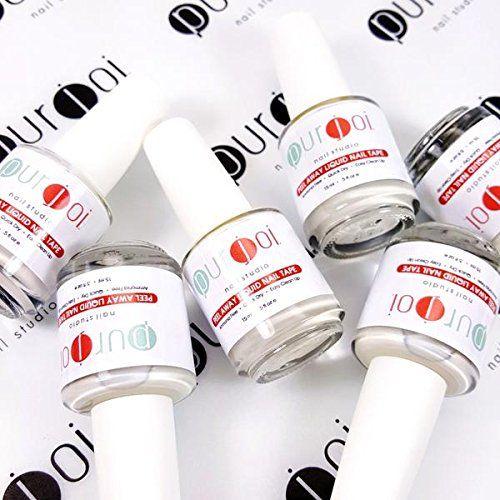 Liquid Nail Tape Peel Off Nail Tape Latex Nail Tape Nail Art Stamper Cuticle Barrier Latex Nail Art Stamping (15ml) -- For more information, visit image link.