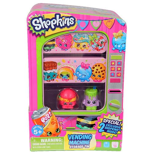 Shopkins™ Vending Machine Storage Tin