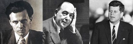 JFK, C.S. Lewis, and Aldous Huxley died the same day, Nov 22, 1963.