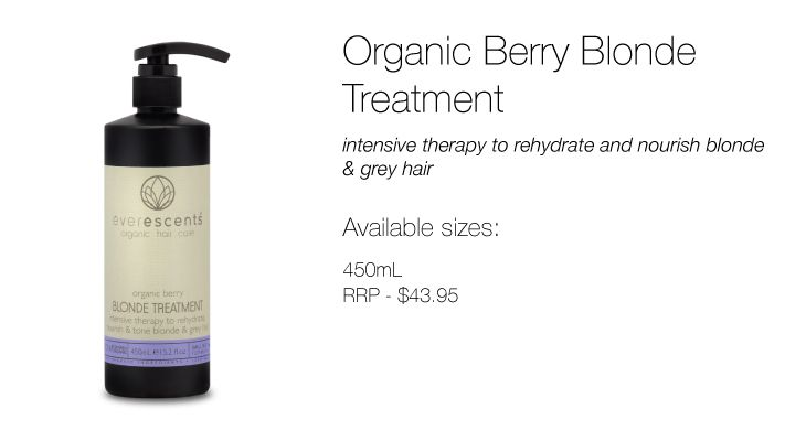 Organic Berry Blonde Treatment | EverEscents