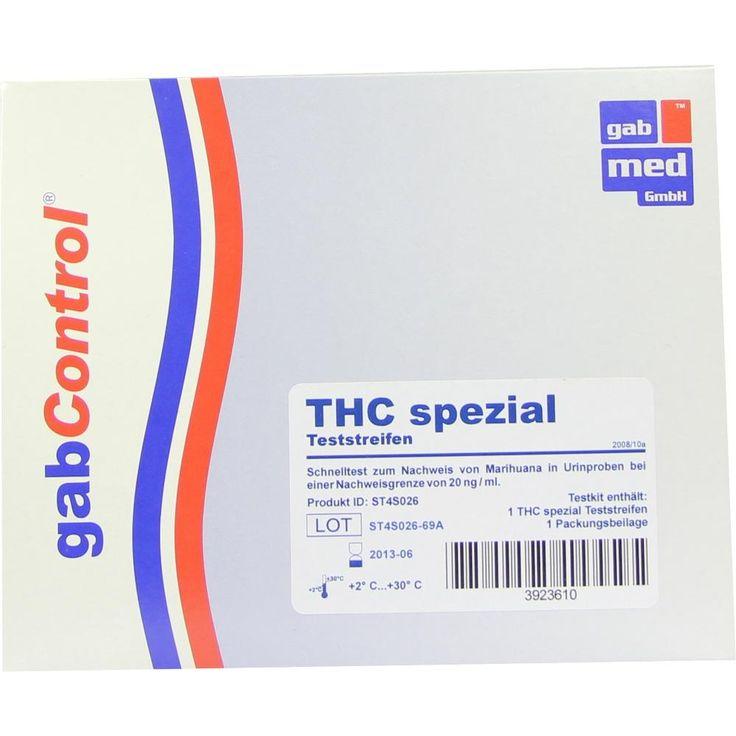 DROGENTEST THC 20 spezial Teststreifen:   Packungsinhalt: 1 St Teststreifen PZN: 03923610 Hersteller: gabmed GmbH Preis: 3,28 EUR inkl.…