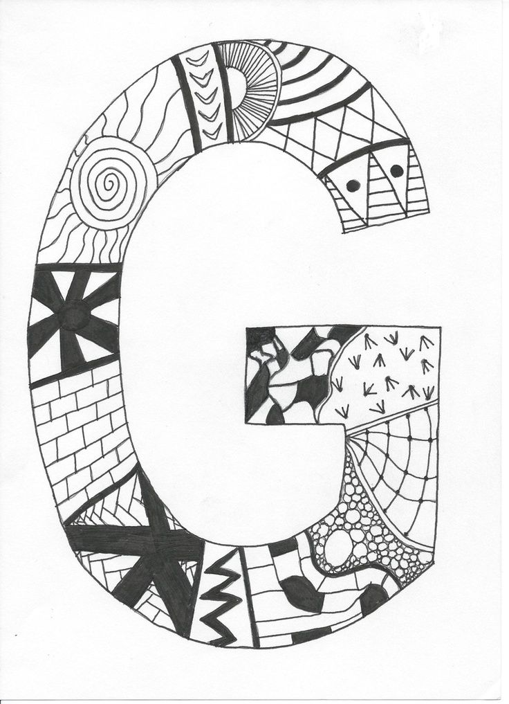 easy drawings zentangle simple patterns zentangles doodle anyone doodles drawing pattern draw cliparts letter steps lettering coloring printable visit projects