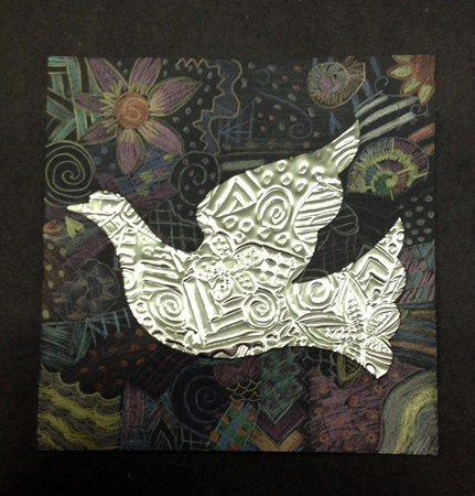 8th Grade - Christmas Tooling - Texture/Pattern