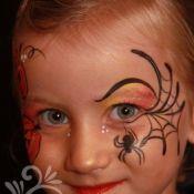 Schminkvoorbeelden voor Halloween