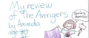 Arguably the best parts were her comment on Captain America's skin, and Thor's hair.