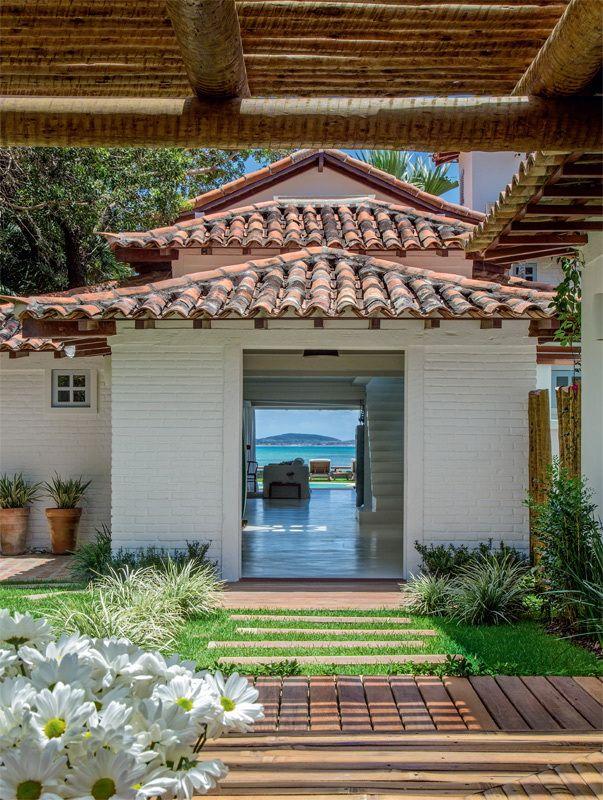 ACHADOS DE DECORAÇÃO - blog de decoração: PARA RELAXAR: casa de praia - uma passagem para o paraíso