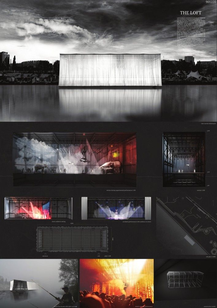 6 Winners Selected for OISTAT Competition to Design a Floating Theatre in Germany