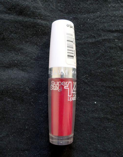 SuperStay 14h, le rouge à lèvres de Gemey Maybelline qui tient, tient...