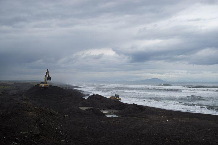 INRUSSIA — Black Sands of Kamchatka
