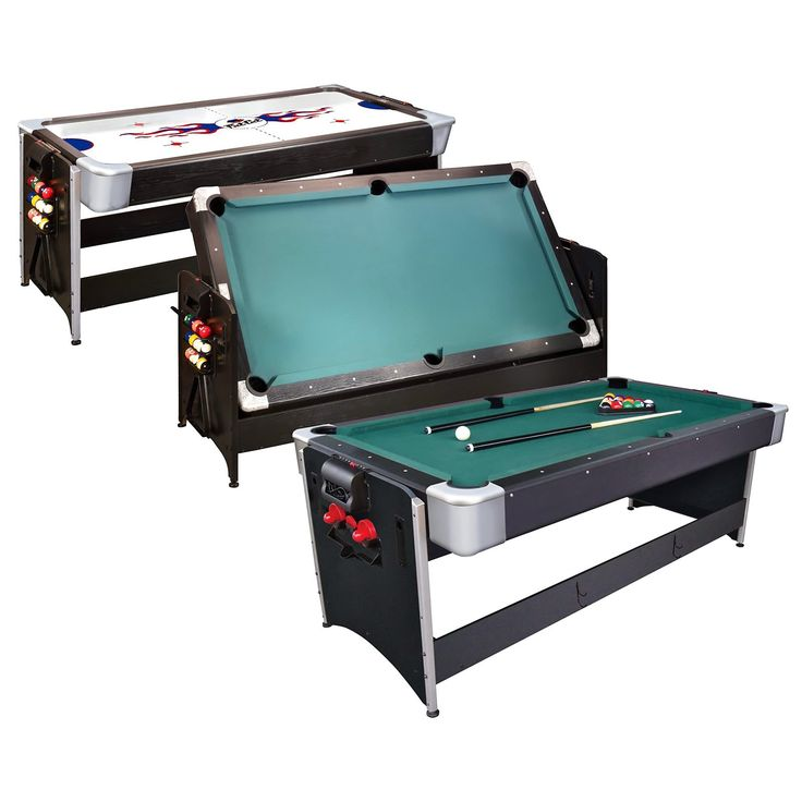 Have to have it. Fat Cat 7 ft. Black Pockey Table - Billiard & Air Hockey - $849.99 @hayneedle Perfect for the game room