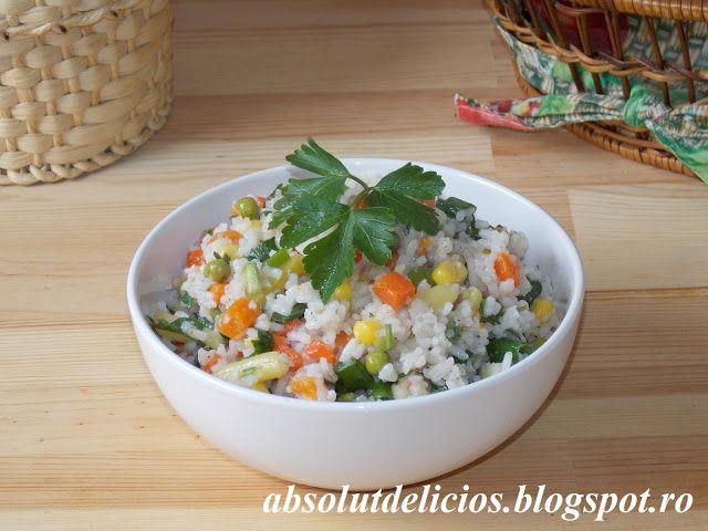 Salata de orez cu legume mexicane