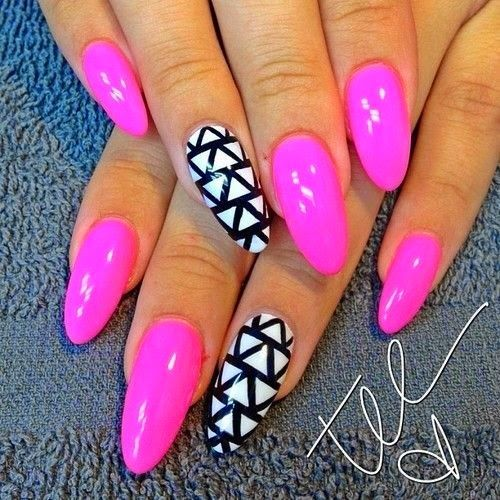 Best 25 stiletto nail designs ideas on pinterest stiletto nails pink stiletto nail designs to adore prinsesfo Choice Image