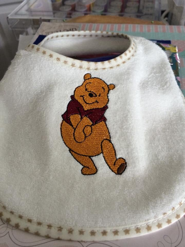 Winnie the Pooh baby bibs £2 :) let us know if you want one :)