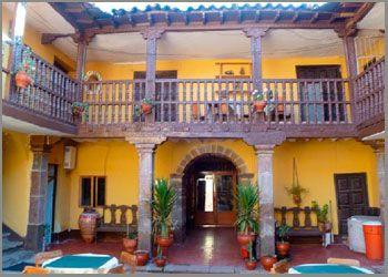 patio Hostal Quipu