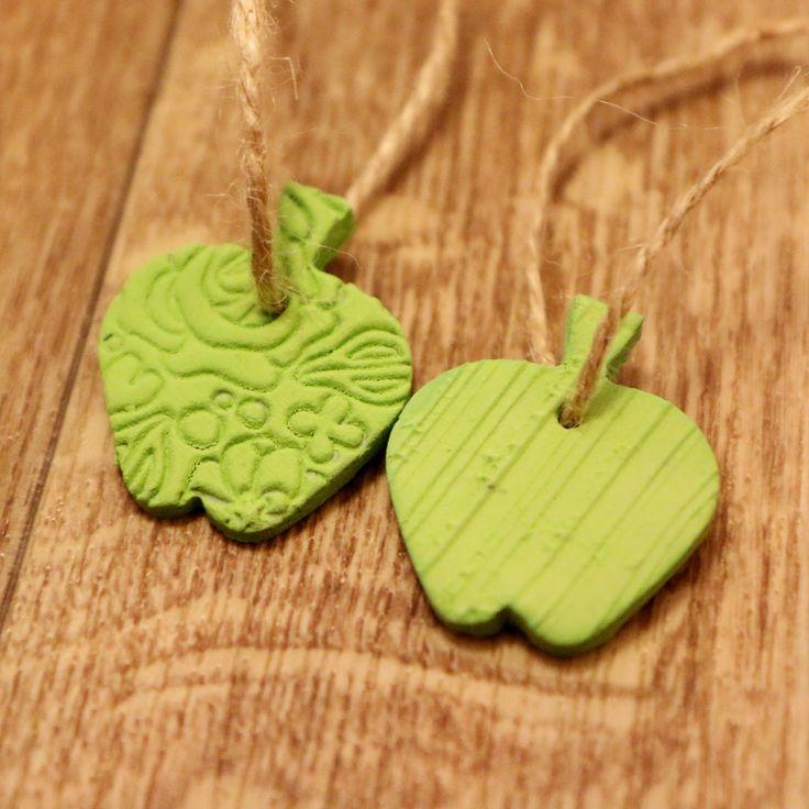 Dekorace jablíčko zelené