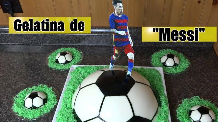 """Gelatina de """"Lionel Messi"""" / Casayfamiliatv"""