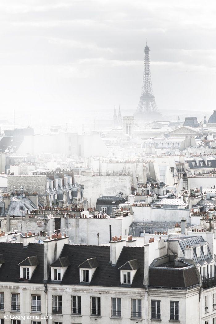 Eiffel Tower, Paris, by Georgianna Lane