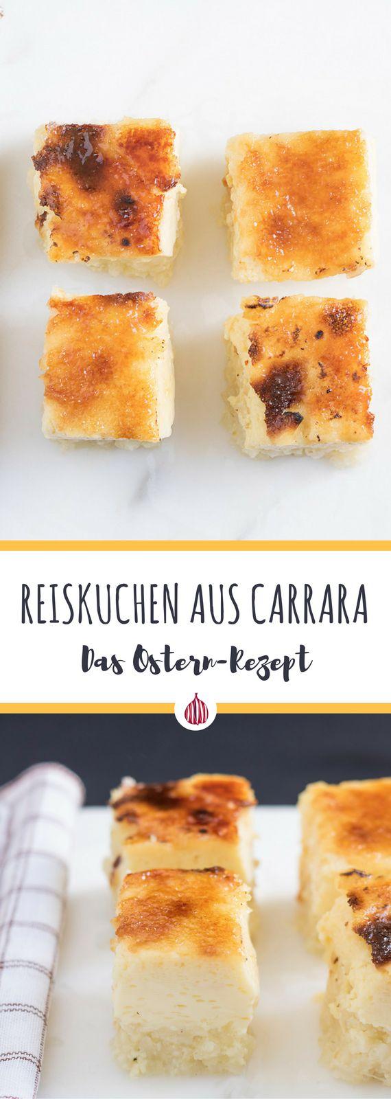 Es ist Osternzeit! Hier ist den leckeren Reiskuchen aus der Toskana. #toskana #italienischkochen
