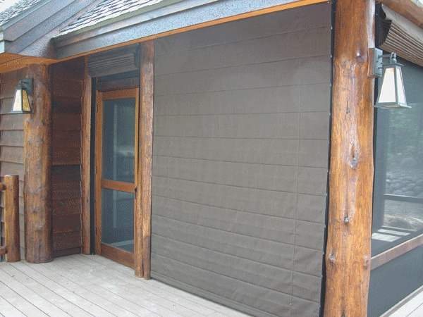 Good Screen Porch Shades Can Be Lowered On One Side To Block The Wind Or Hot  Afternoon