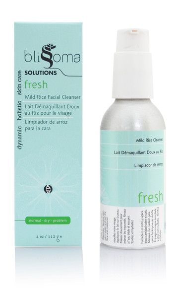 Blissoma - Fresh Mild Rice Facial Cleanser (120ml) | This cleanser is a must try. It is soft and gentle and perfect for all skin types.