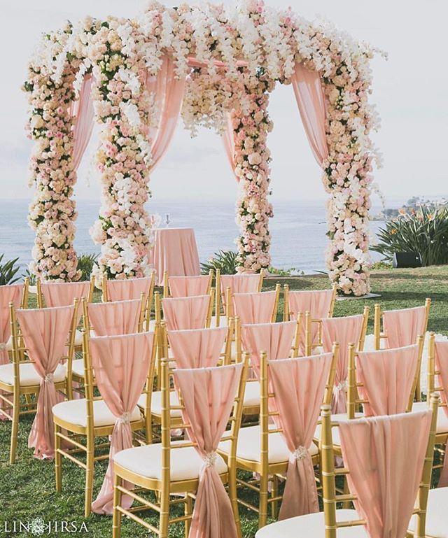 A fairytale wedding ? We think so | Shot by @linandjirsa | See more Mandap decor…