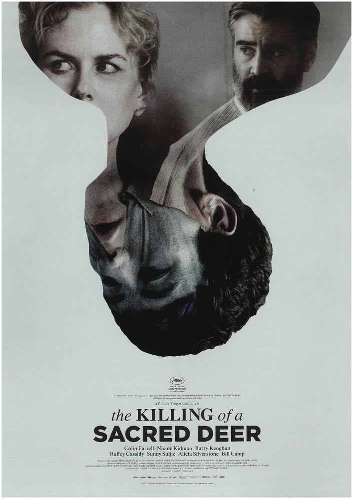 THE KILLING OF A SACRED DEER  2017 - ORIG. FILMPOSTER A4