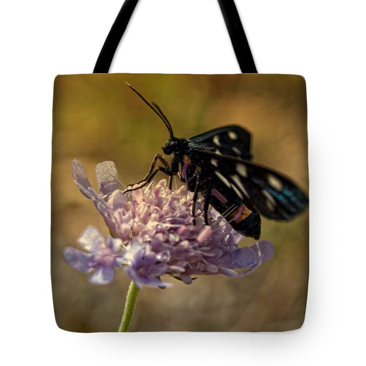 "Gonna Fly Away Tote Bag 18"" x 18"" by Lucie Rovna"