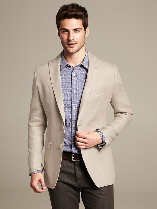 36 best Sports Jacket - Beige (Linen) images on Pinterest