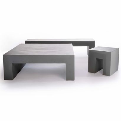 Vignelli Table Set - Click to enlarge http://www.inmod.com/ 1950