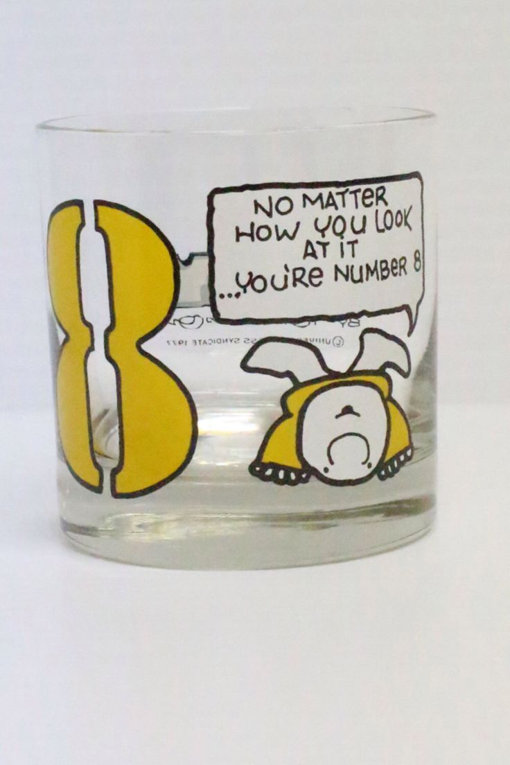 53 best collecting ziggy comics character images on pinterest 1977 vintage ziggy glass number 8 by thejellyjar on etsy https kristyandbryce Gallery