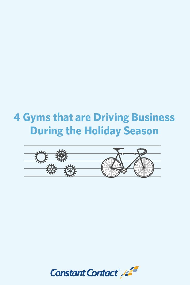 While the holidays are an important time for many different industries, this couldn't be truer for gym and recreation studios.  Sending a quick email marketing message to your email list during the holiday season can set you up for success in the New Year.  You can offer a membership renewal discount or just send a simple Happy Holidays message to reconnect with your email list.