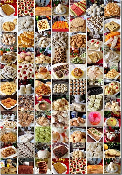 SPECIAL COMPILATION OF 80 CHINESE NEW YEAR RECIPES–PART 1–Cookies, Snacks and Cakes ( 80 春节食谱汇编 1–糕点和曲奇)#guaishushu #kenneth_goh
