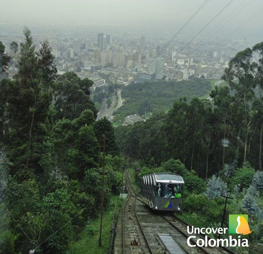 Uncover Colombia - Way up to Monserrate