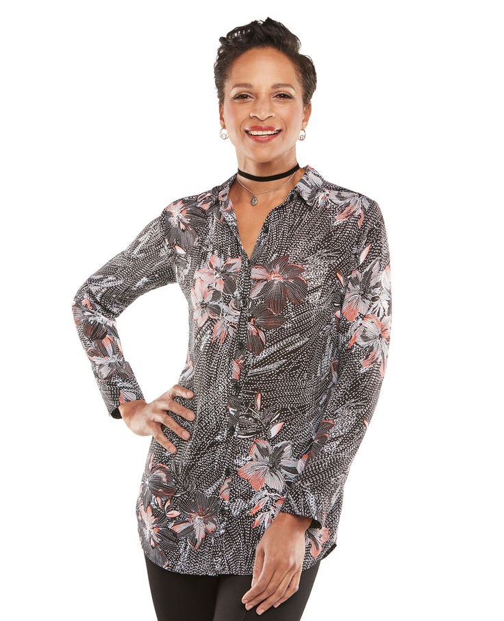 Northern Reflections - Long Sleeve Floral Duster, $32.50 (http://www.northernreflections.com/long-sleeve-floral-duster-451560837/)