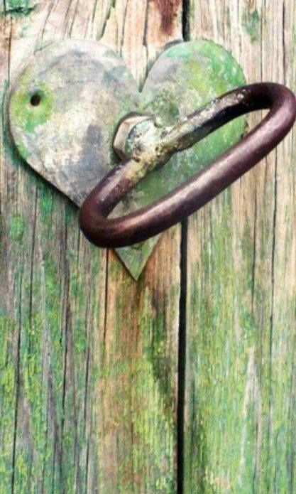 heart unlocks the door