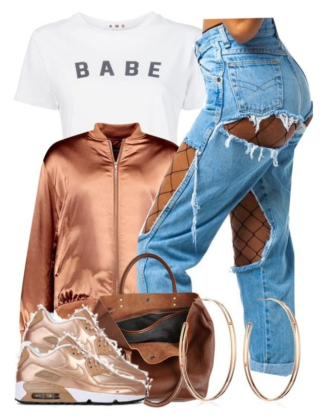 """1/8/17"" by jasmineharper ❤ liked on Polyvore featuring AMO, Boohoo, Monserat De Lucca and Vita Fede"