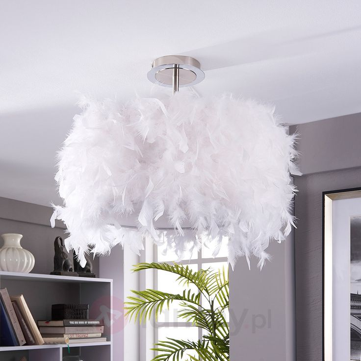 Pauline - lampa sufitowa z kaczym pierzem bezpieczne & wygodne zakupy w sklepie internetowym Lampy.pl.