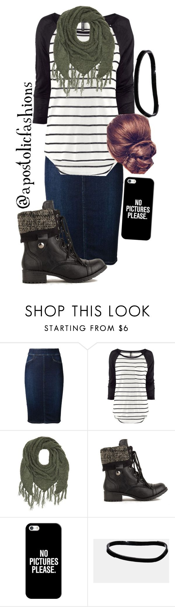 """""""Apostolic Fashions #911"""" by apostolicfashions on Polyvore featuring Citizens of Humanity, H&M, Charlotte Russe, Casetify and ASOS"""