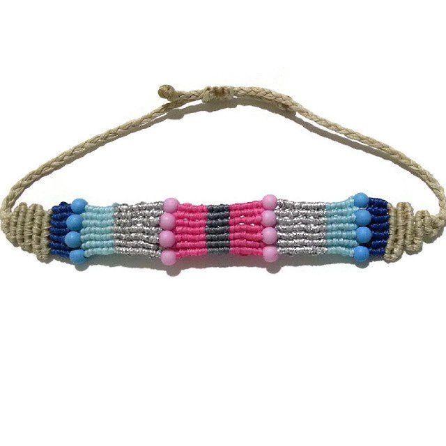macrame bracelet                                                                                                                                                      More