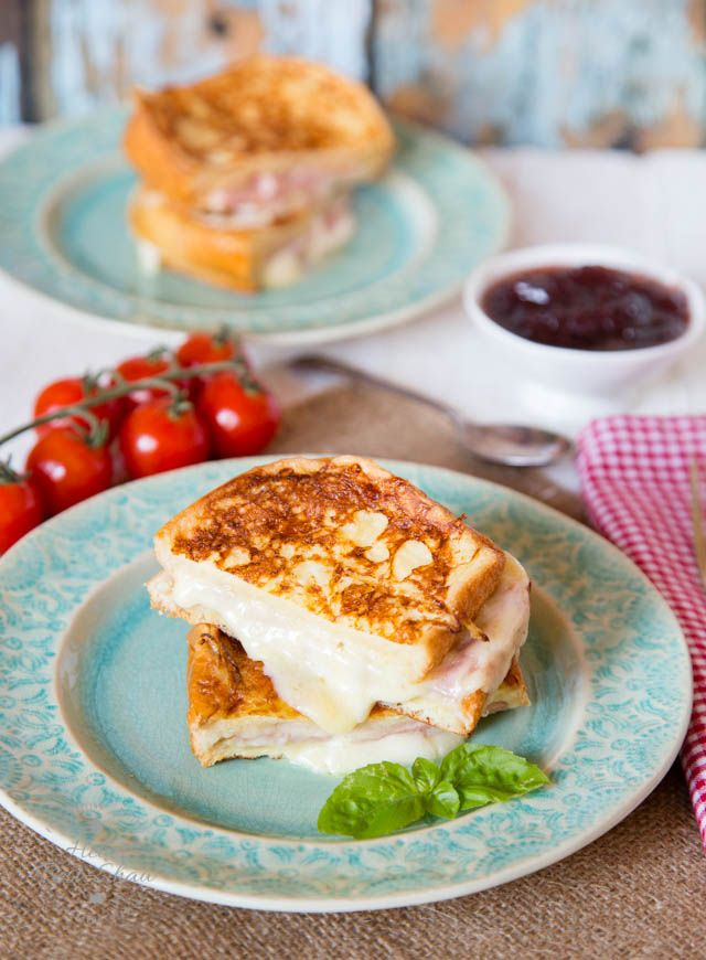 Lift a run of the mill ham and cheese sandwich with this easy ham and cheese toastie, made with brioche eggy bread for extra indulgence.