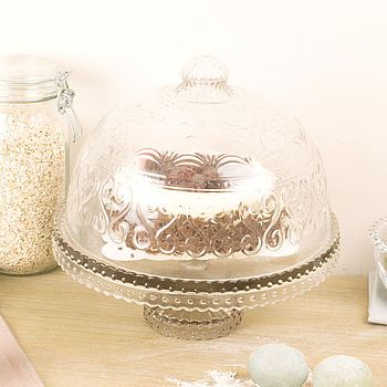 Glass Cake Stand 49.95