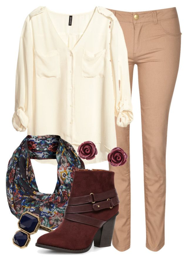 """Teacher Outfits on a Teacher's Budget 148"" by allij28 ❤ liked on Polyvore featuring Jane Norman, H&M, Accessorize, Dorothy Perkins and Brooks Brothers"