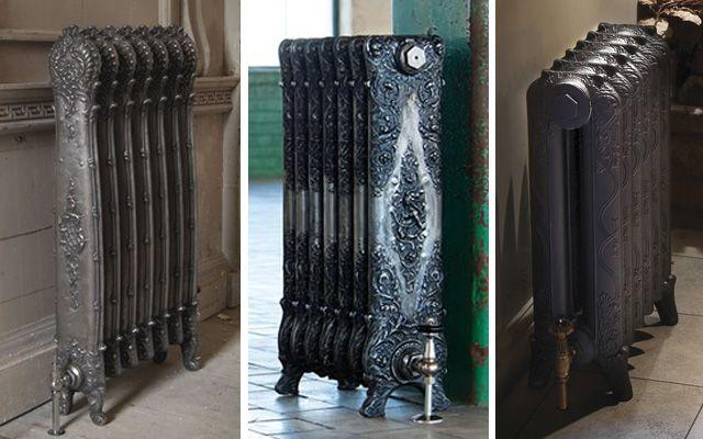 Cómo decorar con radiadores antiguos de Hierro Fundido - Decofilia.com