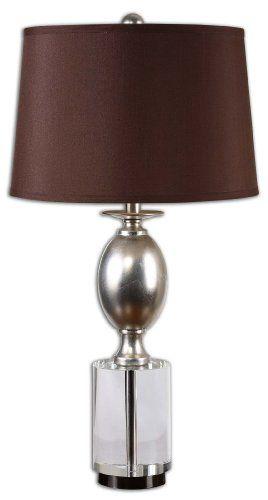 Uttermost 26281 Almira Silver Leaf Table Lamp    Http://www.discountbazaaronline.