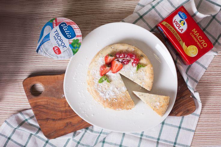Творожный чизкейк с ягодами - пошаговый рецепт приготовления с фото