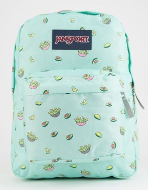 18f9b44d0 JANSPORT Superbreak Avocado Party Backpack | Bolsas e mochilas en ...