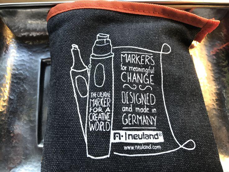 Markers for meaningful change #Neulandmarker #Neuland #BigOne #NumberOne #Marker #Creative #MadeInGermany #Design #Black #Stifte #Lieblingsstifte #Seminar #Workshop